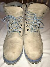 Timberland, Size 12M, Mens, Beige, Lace Up, Suede, Boots