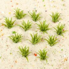 50pcs 1.3'' Ground Grass Model Railway Scenery Wargame Park Layout HO OO Scale