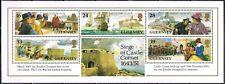 Guernsey 1993 blok 10 350-ste verjaardag beleg Slot Cornet cat waarde € 5,50