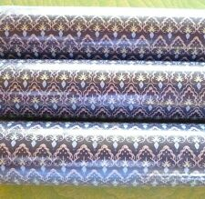 """Vintage Wallpaper Three Sisters Studios Double Rolls 11 Yards By 20 1/2"""" 1970s"""