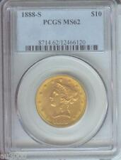 1888-S $10 LIBERTY EAGLE PCGS MS62 NICE MS-62 BETTER DATE Premium Quality P.Q.