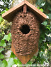 Bird house nest box cocoon for wren & small garden birds quality Best for Birds