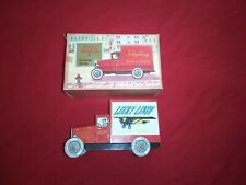 """Vintage & Classic """"Lucky Lindy"""" Delivery Truck By Schylling In Original Box"""