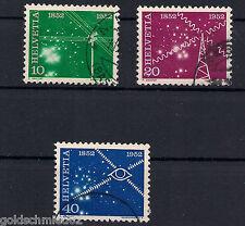 Schweiz - 1952- Mi. Nr. 567-569 - Gestempelt