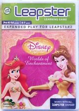 Leap Frog Leapster Learning Game - Disney Princess Worlds of Enchantment