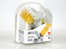 Nokya 2500K 55w Hyper Yellow H1 Halogen Fog Light Bulbs