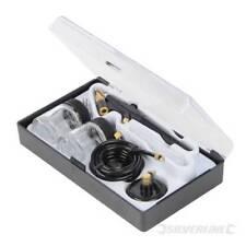 Silverline 6 Piece Hobby Air Brush Kit 380158 Crafts Airbrush