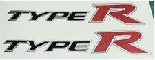 Honda Civic FN2 Type R Glitter Red x 2 Side Panel Stickers Decals K20 K Series