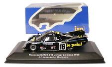 IXO lm1980 Rondò m379b 1980 Le Mans winner 1980-Jaussaud/Rondò SCALA 1/43