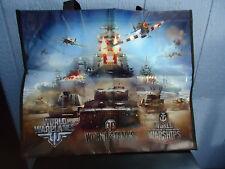 World of Tanks/World of Warplanes/World of Warships Tote Bag  NEW