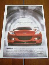 2005 MAZDA RX-8 ***ORIGINAL AD*** 9,000 RPM