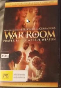 War Room - Alex Kendrick DVD R4 Australian Release
