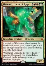 OMNATH, L'IRALOCUS - OMNATH, LOCUS OF RAGE Magic BFZ Battle For Zendikar