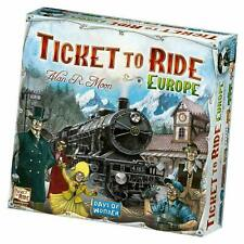 Days of Wonder Ticket To Ride Europe Edition Board Game Complete Game