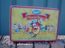 Weenie Beans Becon's Gourmet Jelly Beans Tin Empty Novelty Item