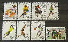Tansania 1993 Komplettsatz Sportarten Mi.Nr.: 1467 - 1473 + Worldcup Gummiert