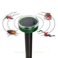 Solar Ultrasonic Gopher Mole Snake Mouse Pest Reject Repeller Repellent Control