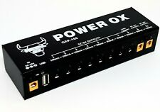 """METAL OX, OXP-100 """"Power Ox"""" Power Supply for Guitar Effect Pedal (From UK)"""