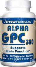 Jarrow Formulas, Alpha GPC 300, 300mg x60Vcaps;- SAME DAY DISPATCH BEFORE 2PM!!