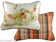 "17""x13"" Country Duckling Cushion Evans Lichfield DPA309 43x33cm Cotton Duck"