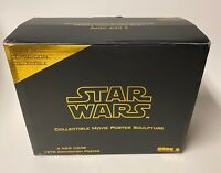 Star Wars CODE 3 ANH A New Hope 1976 3D Sculpted Movie Poster Statue