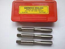M8 X 1.25 HSS conique seconde & Plug Tap Set Sherwood * NEUF *