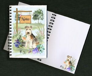 Lakeland Terrier Dog Notebook/Notepad + small image on every page by Starprint