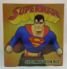 "Superman:The Animated Series SUPERMAN 6"" Resin Bust ~UNOPENED~ Diamond Select DC"
