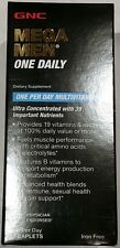 New GNC Mega Men® One Daily 60 Caplets Free Shipping EXP 03/2019