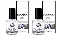 Seche Vite Dry Fast Top Coat Professional 14 Ml / 0.5 FL Oz X 2