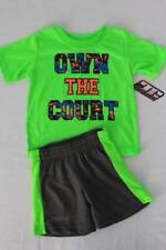 NEW Baby Boys 2 Piece Set 12 Months Outfit T Shirt Shorts Basketball Sports