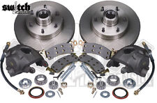 C10 Disc Brake Conversion Kit 1963-70 Chevy GMC 6 Lug 2.5 Drop Spindle McGaughys