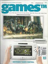 Games videogame magazine Nintendo Tomb Raider Ninja Gaiden Falcom Q-Games Review