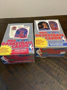 1989-1990 NBA HOOPS WAX SEALED PACKS POSS. MICHAEL JORDAN PSA 10
