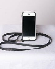 Closeout Crossbody Cases Fits iPhone 4 / 4S iPhone Case  Wallet  Black New