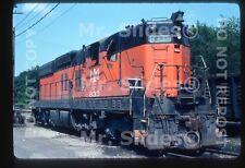 Original Slide B&LE Bessemer & Lake Erie SD9 833 Butler PA 1979