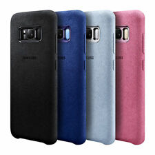 OEM Alcantara Suede Leather Case Shockproof Cover For Samsung Galaxy S8 Plus S8