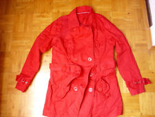 rote Jacke mit Knöpfen und G��rtel Gr. 40  Yes&Co Yessica  von C&A
