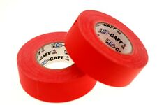"Red Gaffers Tape 2"" Wide X 55 yrd Roll Gaff"