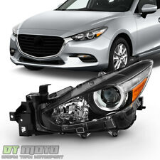 2017 2018 Mazda 3 Halogen Projector Headlight Replacement Driver Side Ma2518175 Fits Mazda 3