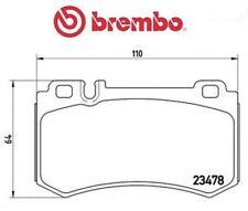 P50061 Kit pastiglie freno, Freno a disco (MARCA-BREMBO)