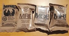 (Lot Of 4) US Military MRE's (meal ready to eat) Case A Menu's 20 21 23 24