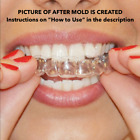 2 x Teeth Whitening Mouth Trays - Remouldable Gum Shields - Easy & Fast Moulds