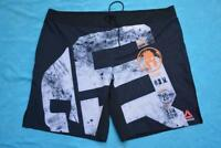 REEBOK Spartan Black Sport Shorts NEW Size 2XL Gym/Athletics/CrossTraining/Beach