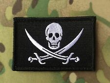 CALICO JACK MORALE PATCH JOLLY ROGER PIRATE FLAG SKULL SWORDS NAVY SEALS DEVGRU