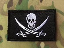 CALICO JACK MORALE PATCH JOLLY ROGER PIRATE FLAG SKULL SWORDS NAVY SEALS DEVGRU