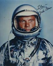 "Astronaut John Glenn Hand Signed Autographed Color Photo ""To Ron"""