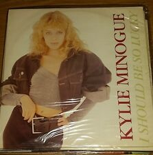 "(-0-) KYLIE MINOGUE I SHOULD BE SO LUCKY 12"" SINGLE REMIX (-0-)"