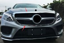 For Mercedes Benz GLE W166 C292 2015-2017 Car ABS Hood Front Mesh Grill Grille