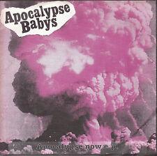 "7"" EP 45 TOURS ALLEMAGNE APOCALYPSE BABYS ""Apocalypse Now EP"" 1997 PUNK"